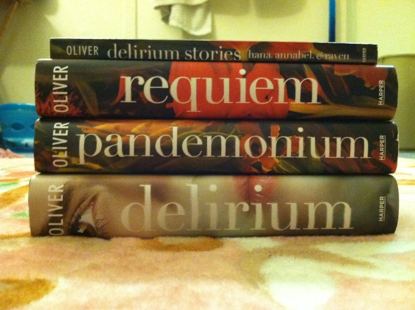 The Delirium Trilogy by Lauren Oliver